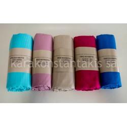 Summer extra double plain colour blanket