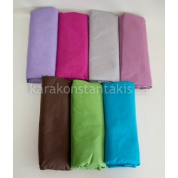 Extra double fitted plain colour sheet