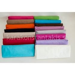 Double fitted plain colour sheet