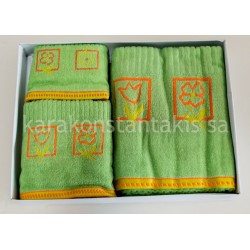 3pieces set zakar towels