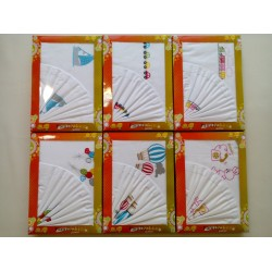 Set children sheets with embroidery