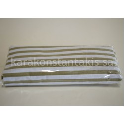 Double fitted striped-dot sheet