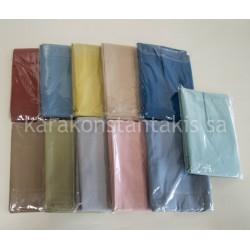 Double plain colour set sheets