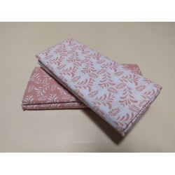 Single fitted striped-dot sheet