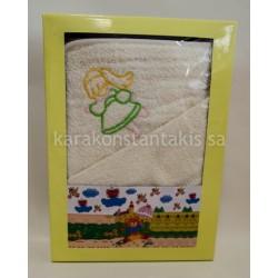 Set 2pieces chlildren Towel cape