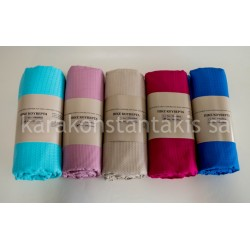 Summer extra double plain colour blanket